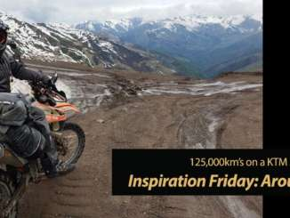 Inspiration Friday: Around the World on a KTM 500 EXC