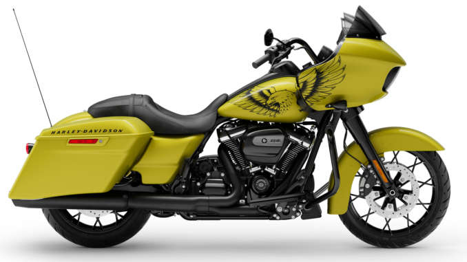 Harley-Davidson Eagle Eye Yellow Special Edition Paint Color Released