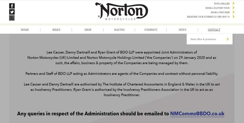 Norton Insolvency