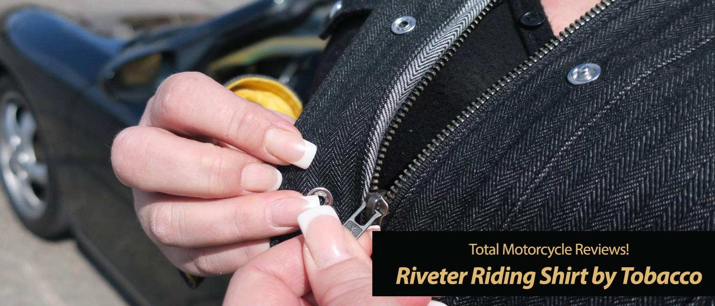 Tobacco Riveter Riding Shirt Review - Trump Twitter Tough!