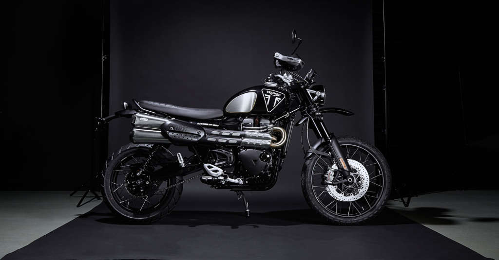 2020 Triumph Scrambler 1200 Bond Edition