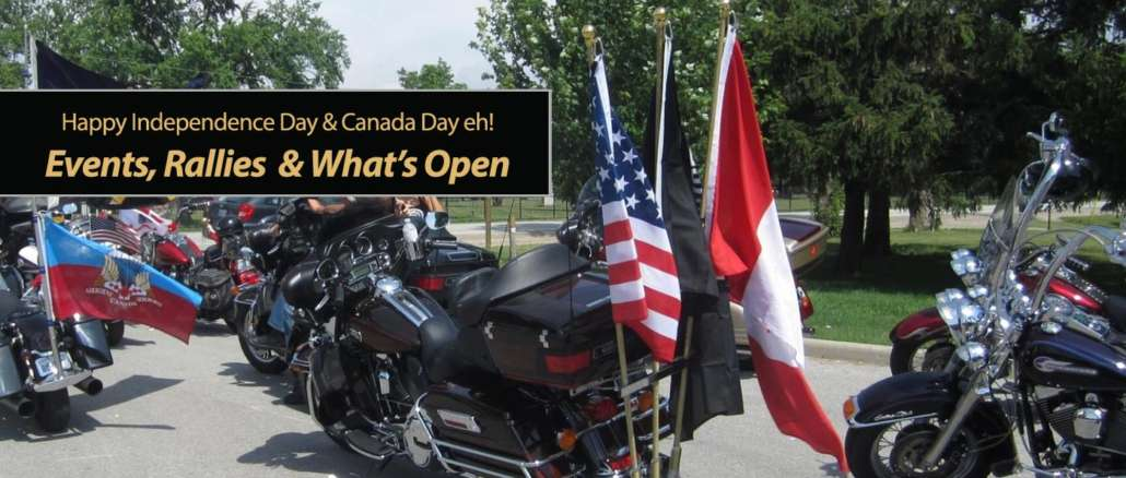 Independence Day & Canada Day 2020 Events Rallies and What's Open