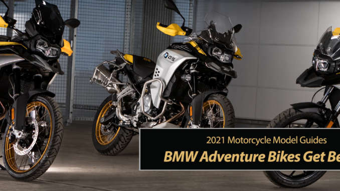 Best BMW Adventure Bikes Get Exciting Updates for 2021