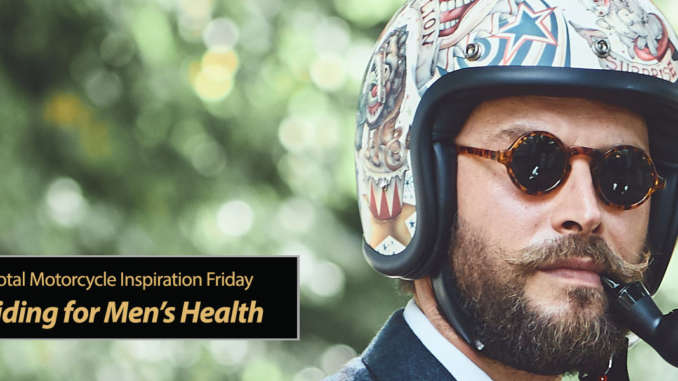 Inspiration Friday: Movember & Distinguished Gentleman's Ride