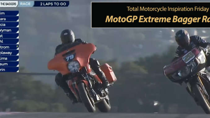 Inspiration Friday, MotoGP Extreme Bagger Racing