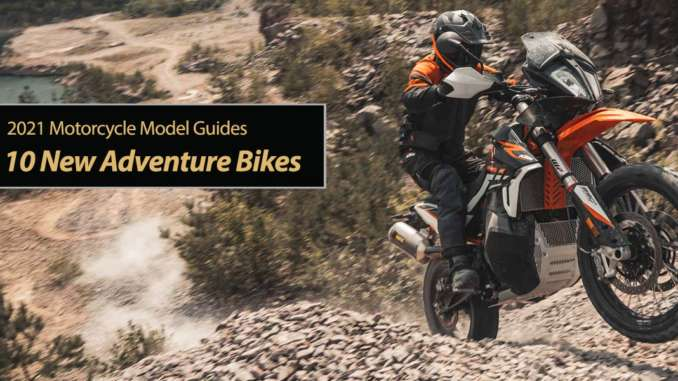 Top 10 New Adventure Bikes for 2021