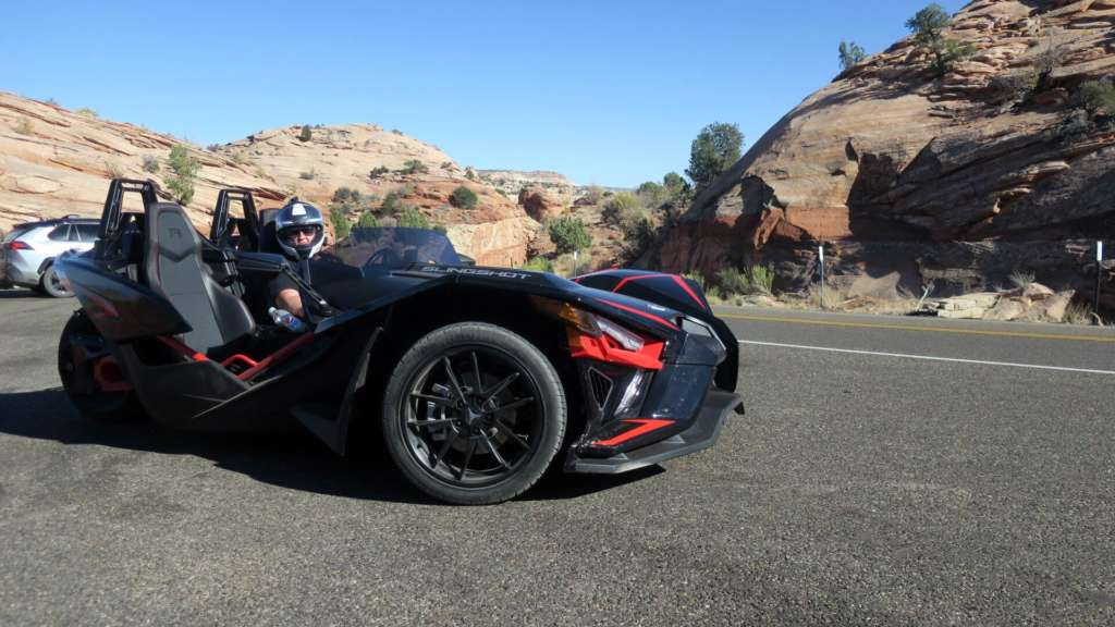Touring in the Batmobile: The Slingshot Effect