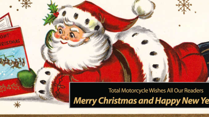 Merry Christmas and Happy New Year 2021 • Total Motorcycle