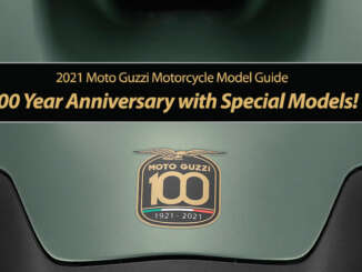 Moto Guzzi Celebrates 100 Year Anniversary with Special Models